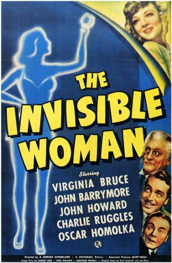 Overlooked Movies: The Invisible Woman(1940)