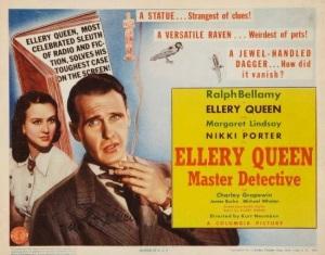 Ellery Queen Master Detective tc 550
